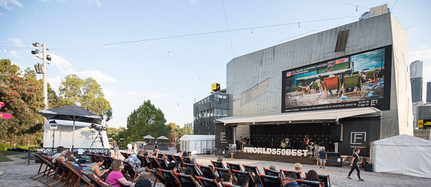 Event Management at Federation Square